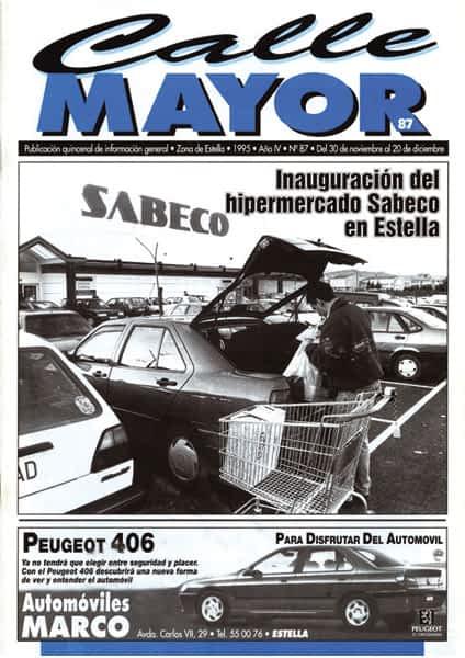 CALLE MAYOR 087 – INAUGURACIÓN DEL HIPERMERCADO SABECO EN ESTELLA