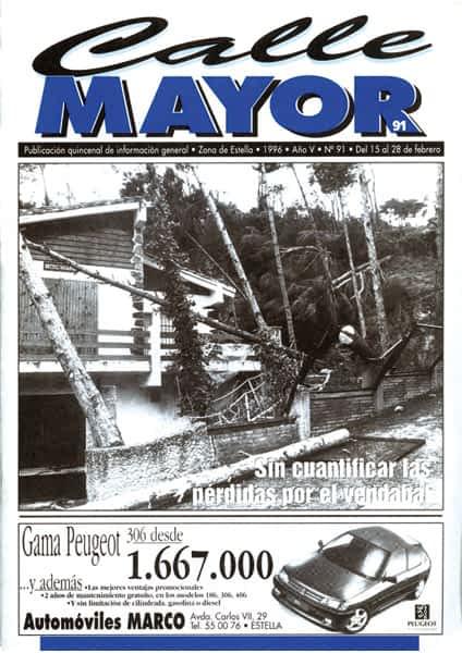 CALLE MAYOR 091 – SIN CUANTIFICAR LAS PÉRDIDAS POR EL VENDAVAL