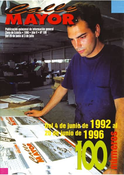 CALLE MAYOR 100 – DEL 4 DE JUNIO DE 1992 AL 20 DE JUNIO DE 1996. 100 NÚMEROS