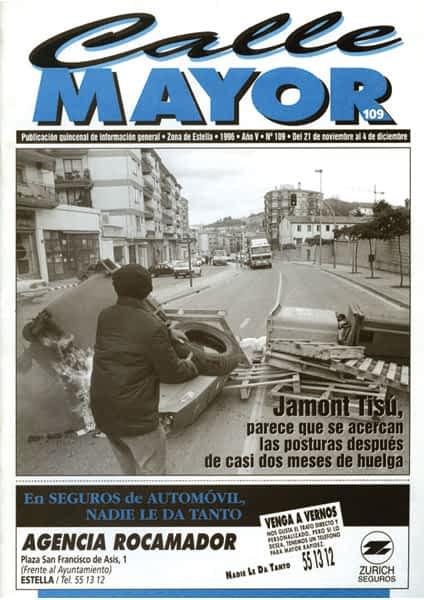 CALLE MAYOR 109 – JAMONT TISÚ, PARECE QUE SE ACERCAN LAS POSTURAS DESPUÉS DE CASI DOS MESES DE HUELGA