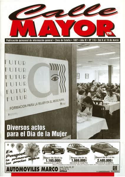 CALLE MAYOR 116 – DIVERSOS ACTOS PARA EL DÍA DE LA MUJER