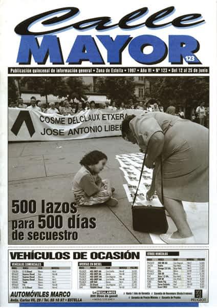 CALLE MAYOR 123 – 500 LAZOS PARA 500 DÍAS DE SECUESTRO