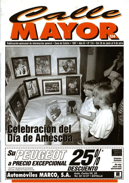 CALLE MAYOR 124 – CELEBRACIÓN DEL DÍA DE AMÉSCOA