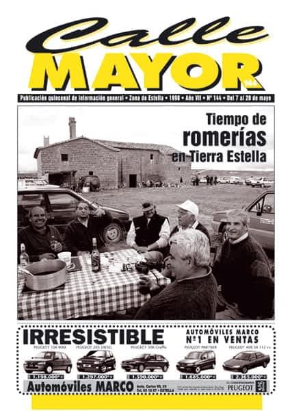 CALLE MAYOR 144 – TIEMPO DE ROMERÍAS EN TIERRA ESTELLA