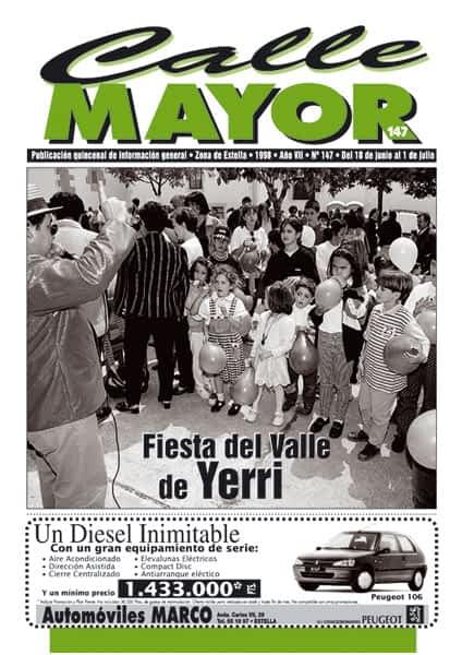 CALLE MAYOR 147 – FIESTA DEL VALLE DE YERRI
