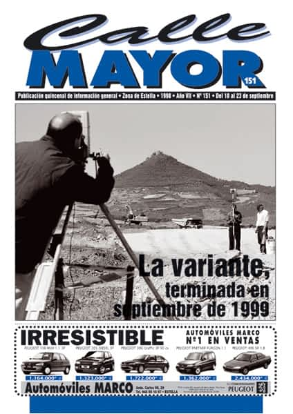 CALLE MAYOR 151 – LA VARIANTE, TERMINADA EN SEPTIEMBRE DE 1999