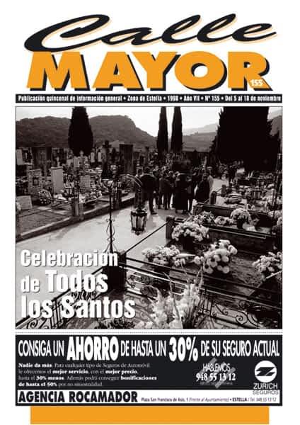 CALLE MAYOR 155 – CELEBRACIÓN DE TODOS LOS SANTOS