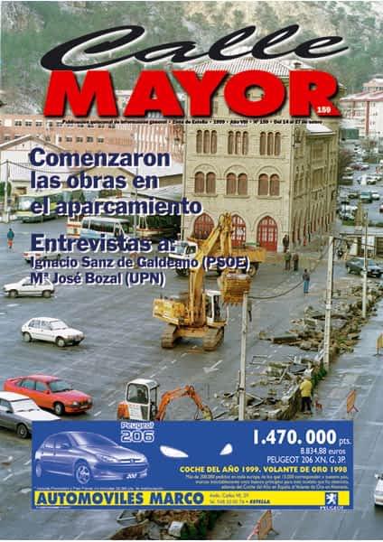 CALLE MAYOR 159 – COMENZARON LAS OBRAS EN EL APARCAMIENTO