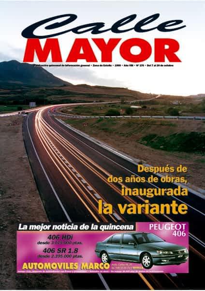 CALLE MAYOR 176 – DESPUÉS DE DOS AÑOS DE OBRAS, INAUGURADA LA VARIANTE
