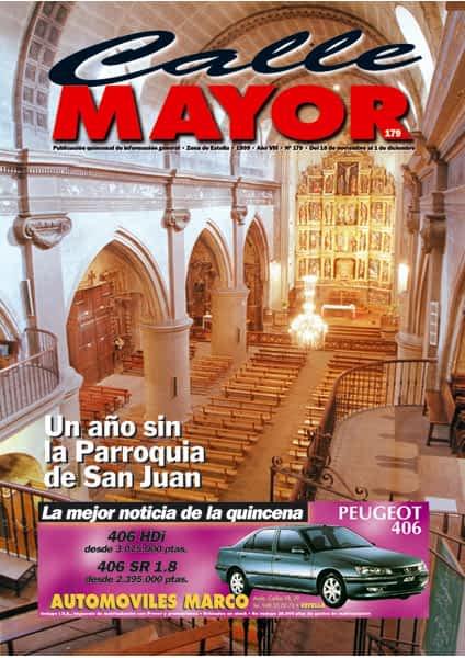 CALLE MAYOR 179 – UN AÑO SIN LA PARROQUIA DE SAN JUAN