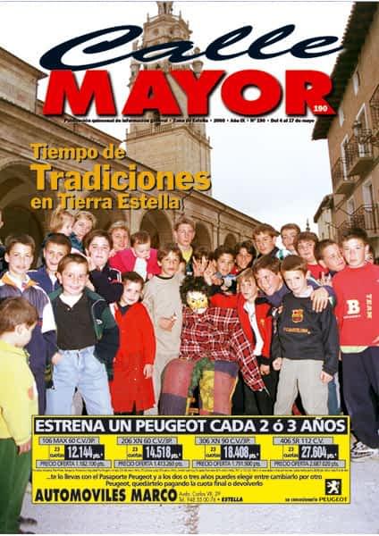 CALLE MAYOR 190 – TIEMPO DE TRADICIONES EN TIERRA ESTELLA