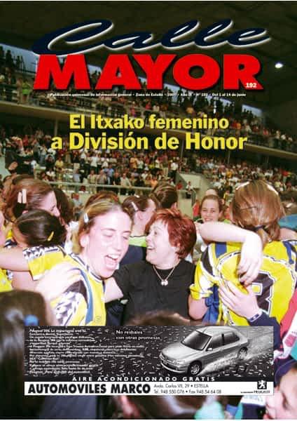 CALLE MAYOR 192 – EL ITXAKO FEMENINO A DIVISIÓN DE HONOR