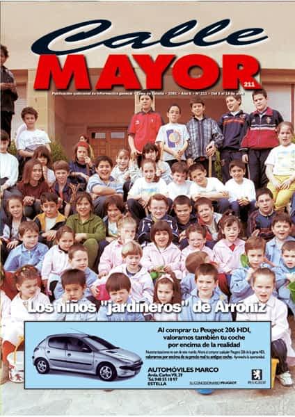 """CALLE MAYOR 211 – LOS NIÑOS """"JARDINEROS"""" DE ARRÓNIZ"""