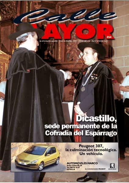 CALLE MAYOR 214 – DICASTILLO, SEDE PERMANENTE DE LA COFRADÍA DEL ESPÁRRAGO