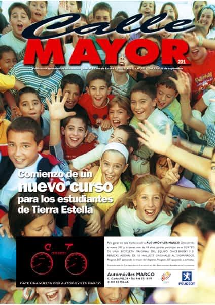 CALLE MAYOR 221 – COMIENZO DE UN NUEVO CURSO PARA LOS ESTUDIANTES DE TIERRA ESTELLA