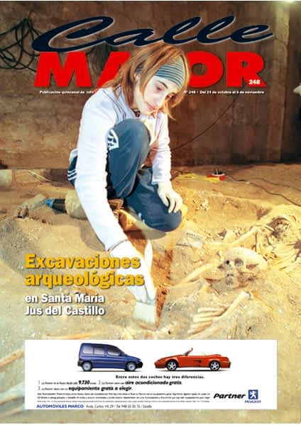 CALLE MAYOR 248 – EXCAVACIONES ARQUEOLÓGICAS EN SANTA MARÍA JUS DEL CASTILLO