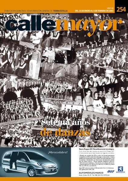 CALLE MAYOR 254 – SETENTA AÑOS DE DANZAS