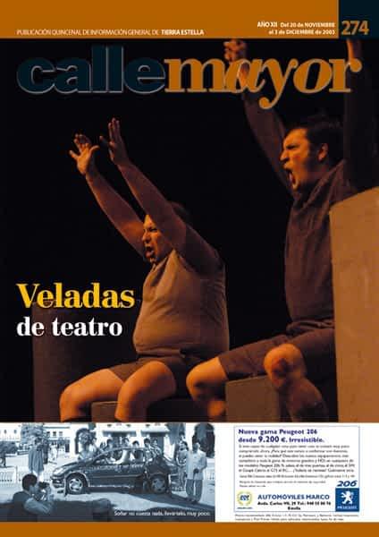 CALLE MAYOR 274 – VELADAS DE TEATRO