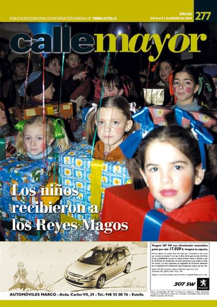 CALLE MAYOR 277 – LOS NIÑOS RECIBIERON A LOS REYES MAGOS