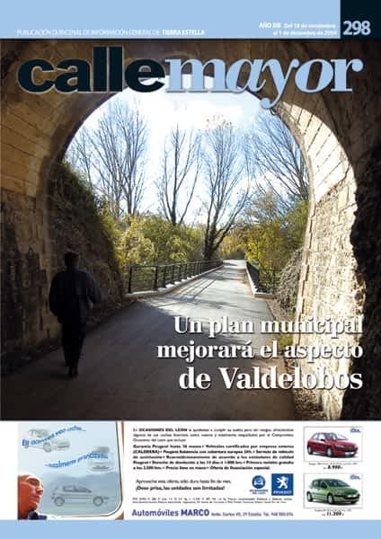 CALLE MAYOR 298 – UN PLAN MUNICIPAL MEJORARÁ EL ASPECTO DE VALDELOBOS