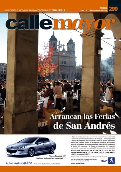 CALLE MAYOR 299 – ARRANCAN LAS FERIAS DE SAN ANDRÉS