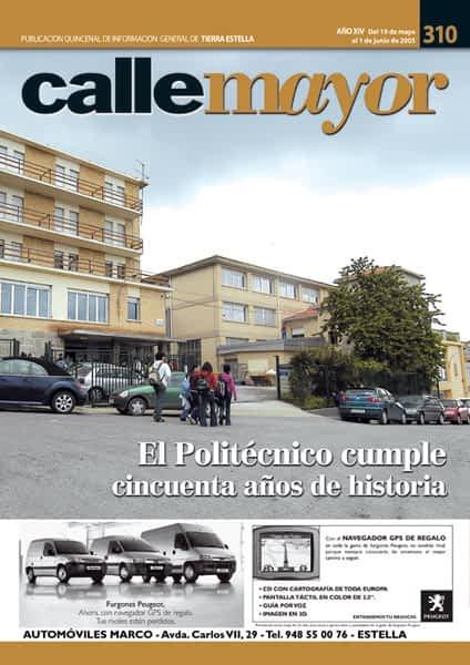 CALLE MAYOR 310 – EL POLITÉCNICO CUMPLE CINCUENTA AÑOS DE HISTORIA
