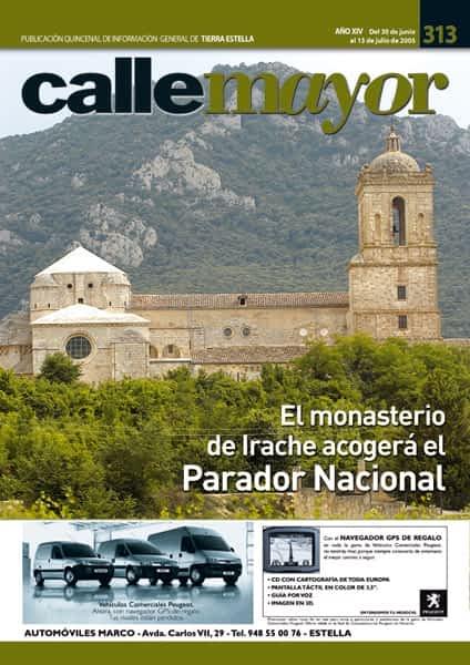 CALLE MAYOR 313 – EL MONASTERIO DE IRACHE ACOGERÁ EL PARADOR NACIONAL