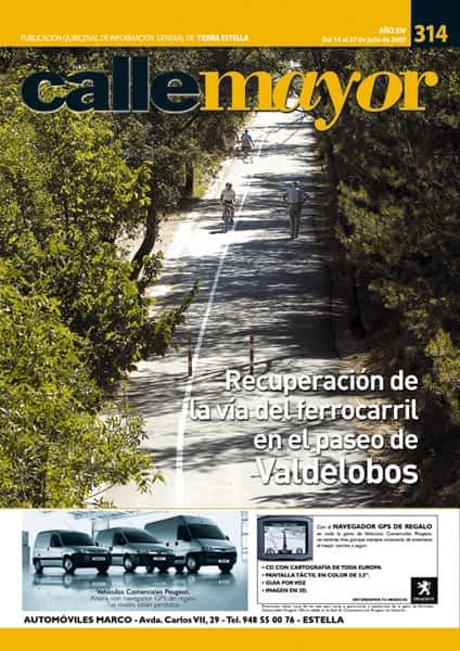 CALLE MAYOR 314 – RECUPERACIÓN LA VÍA DEL FERROCARRIL EN EL PASEO DE VALDELOBOS