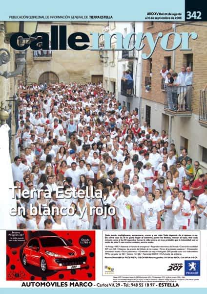 CALLE MAYOR 342 – TIERRA ESTELLA, EN BLANCO Y ROJO