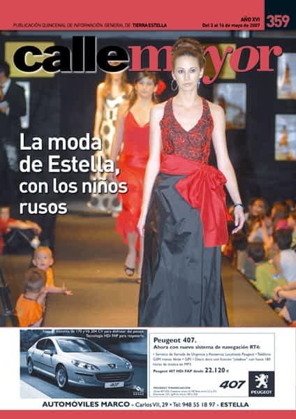 CALLE MAYOR 359 – LA MODA DE ESTELLA, CON LOS NIÑOS RUSOS