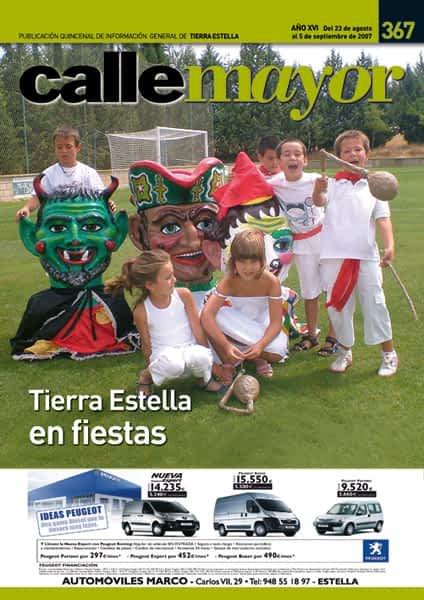 CALLE MAYOR 367 – TIERRA ESTELLA EN FIESTAS