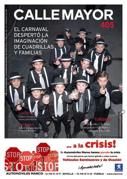 CALLE MAYOR 405 – EL CARNAVAL DESPERTÓ LA IMAGINACIÓN DE CUADRILLAS Y FAMILIAS