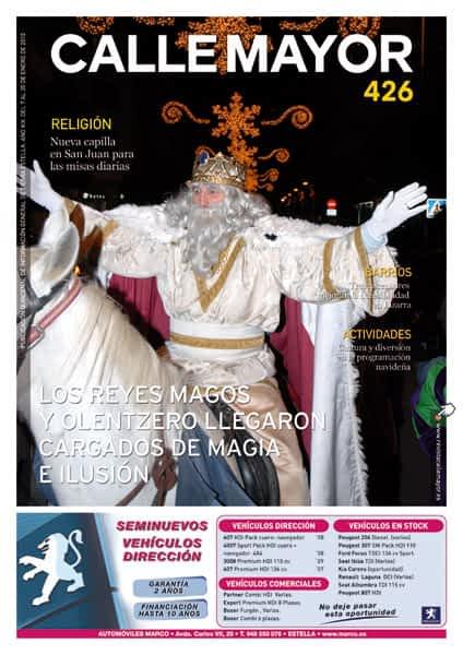 CALLE MAYOR 426 – LOS REYES MAGOS Y OLENTZERO LLEGARON CARGADOS DE MAGIA E ILUSIÓN