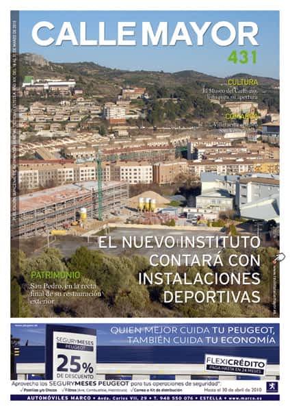 CALLE MAYOR 431 – EL NUEVO INSTITUTO CONTARÁ CON INSTALACIONES DEPORTIVAS