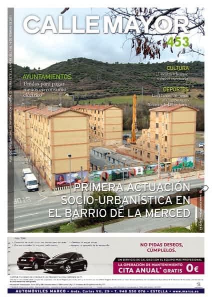 CALLE MAYOR 453 – PRIMERA ACTUACION SOCIO URBANÍSTICA EN EL BARRIO DE LA MERCED