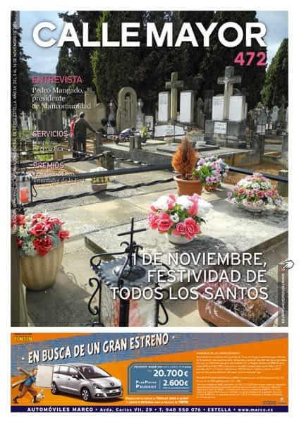 CALLE MAYOR 472 – 1 DE NOVIEMBRE FESTIVIDAD DE TODOS LOS SANTOS