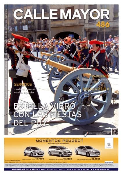 CALLE MAYOR 486 – ESTELLA VIBRÓ CON LAS FIESTAS DEL PUY