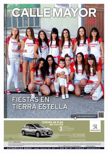 CALLE MAYOR 517 – FIESTAS EN TIERRA ESTELLA