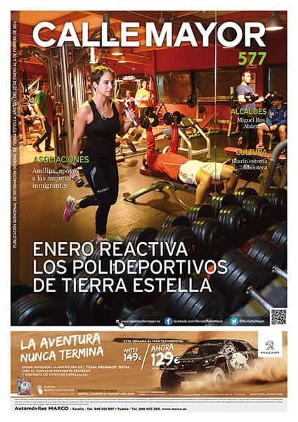 CALLE MAYOR 577 – ENERO REACTIVA LOS POLIDEPORTIVOS DE TIERRA ESTELLA