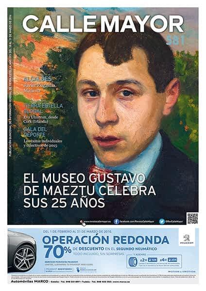 CALLE MAYOR 581 – EL MUSEO GUSTAVO DE MAEZTU CELEBRA SUS 25 AÑOS