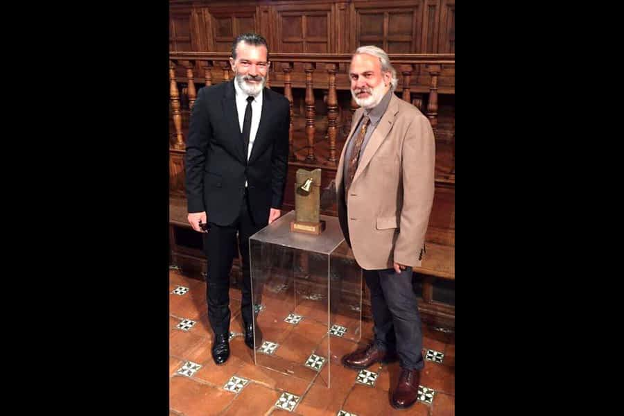 Carlos Ciriza, autor de la obra que premió a Antonio Banderas