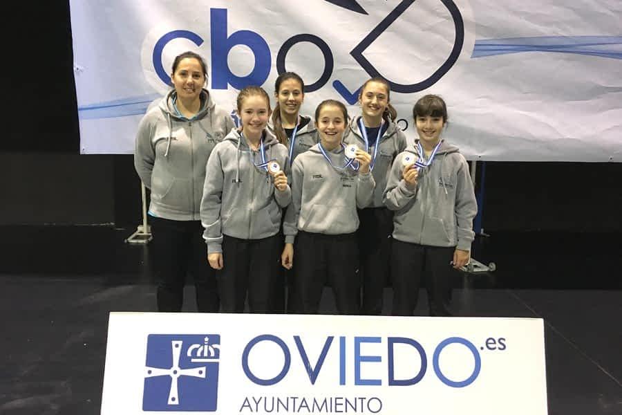 Tres bronces en el Máster Jóvenes de Oviedo