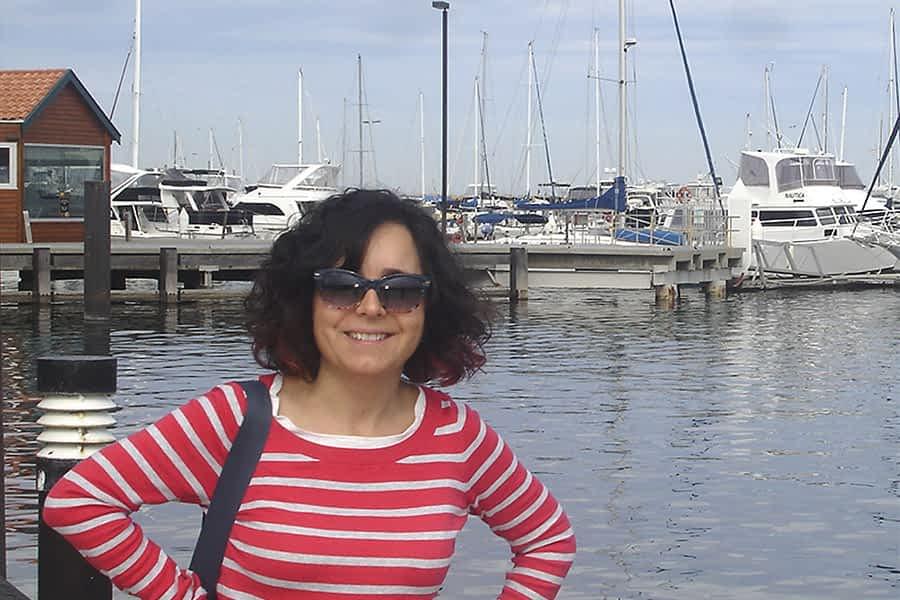 """TIERRA ESTELLA GLOBAL – María Jesús Fernández – Perth/Australia – """"Todavía me siento  más navarra que  australiana"""""""