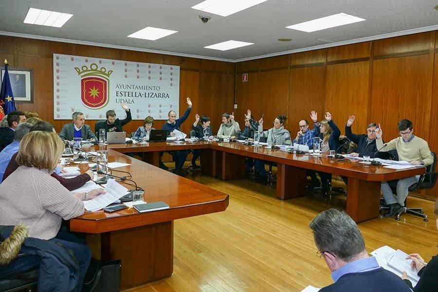 Aprobados 11'86 millones de euros de Presupuesto para Estella en 2018