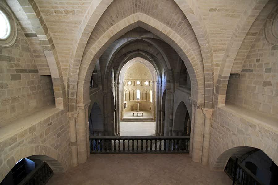 Restaurados los muros y bóvedas de la iglesia Santa María de Irache