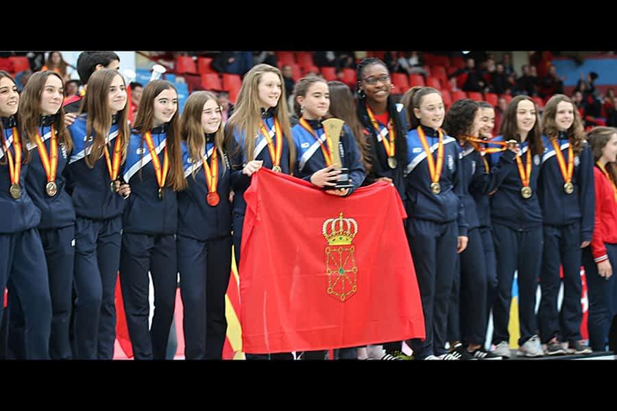 La Selección Navarra Infantil de balonmano, Campeona de España