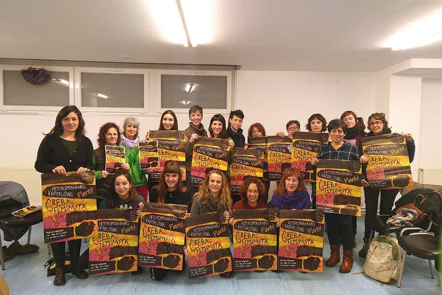El movimiento feminista de Tierra Estella llama a la huelga
