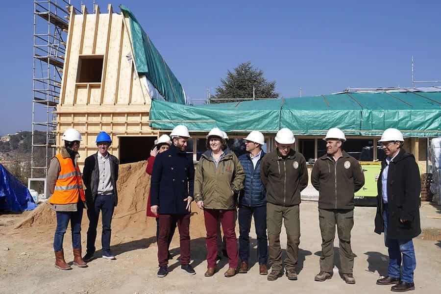 El nuevo edificio del Guarderío de Medioambiente estará listo en abril