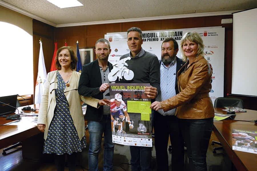 El centro de Estella, salida y meta del XXI Gran Premio Miguel Induráin