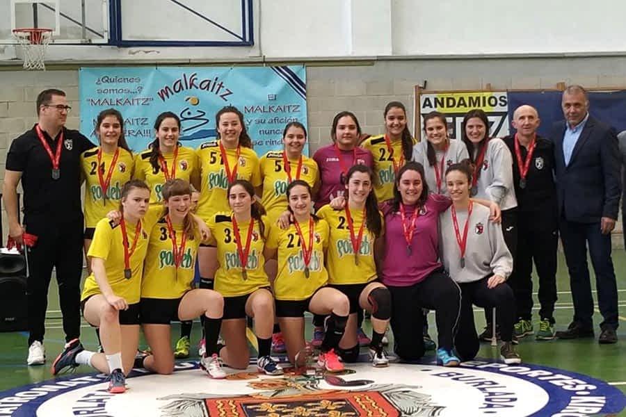 El juvenil Femenino del Bm Lizarreria obtiene plaza en la Final Four